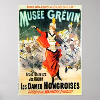 Franzosen Musee Grevin Poster