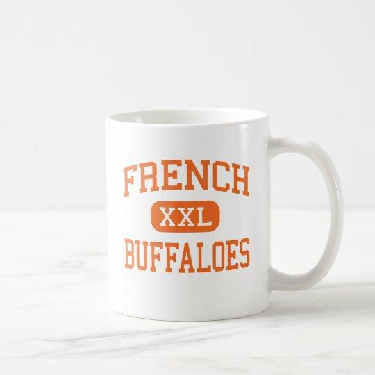 Französische - Büffel - Highschool - Beaumont Kaffeetasse