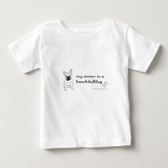 französische Bulldogge Baby T-shirt