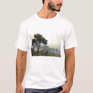 Französische Bulldogge in Capri T-Shirt