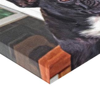 Französische Bulldogge Leinwanddruck