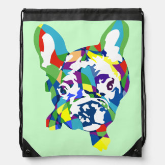 Französische Bulldogge Welpe Turnbeutel
