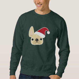 Französische Bulldoggen-WeihnachtsSweatshirt Sweatshirt