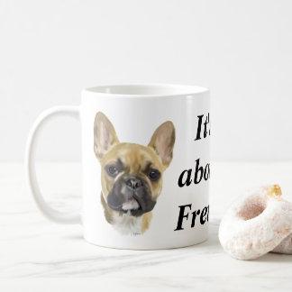 Französische Bulldoggen-Welpe Kaffeetasse