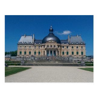 Französische Chateau-Postkarte Postkarte