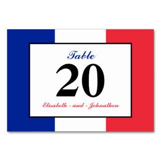 Französische Flaggen-Hochzeit