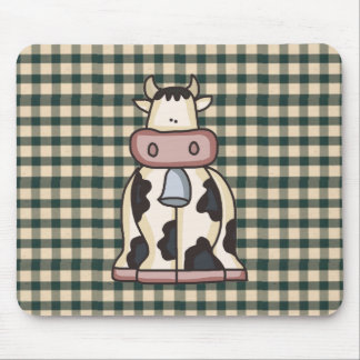 Französische Land-Kuh Mousepad
