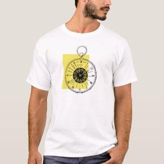 Französische Zeit-Zonen-Uhr T-Shirt