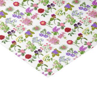 Französischer Land-Garten-Blumenseidenpapier Seidenpapier