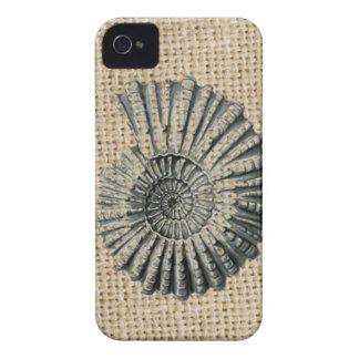 französischer Landleinwand-Strand schicker iPhone 4 Cover