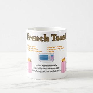 Französischer Toast in einem Tassen-Klassiker Kaffeetasse
