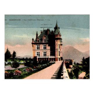 Französisches Chateau Postkarte