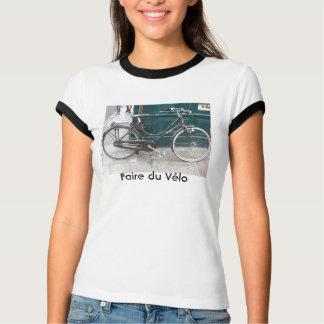 "Französisches Fahrrad ""Faire du Velo "" T-shirt"