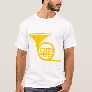 Französisches Horn - Bernstein T-Shirt