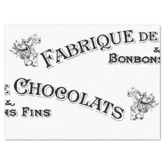 Französisches Zeichen-Gewebe Seidenpapier