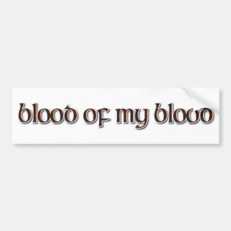 Fraser Tartan: Blut meines Bluts Autoaufkleber