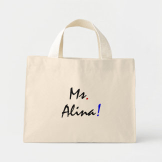 Frau Alina I Mini Stoffbeutel