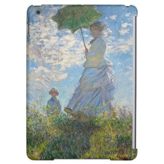 Frau Claude Monets | mit einem Sonnenschirm