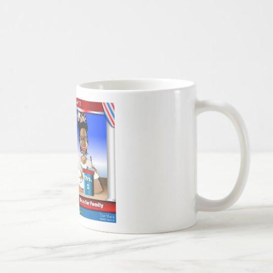 Frau Debate Kaffeetasse