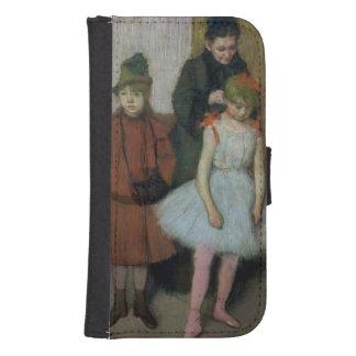 Frau Edgar Degass   mit zwei kleinen Mädchen Samsung S4 Geldbeutel Hülle