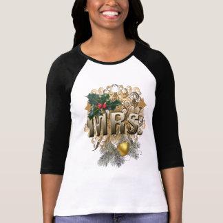 Frau. Erstes Weihnachten T-Shirt