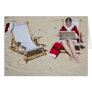 Frau Klaus online am Strand Karte