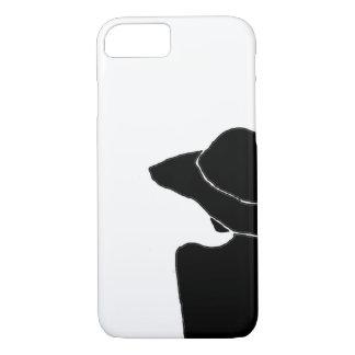 Frau mit Hut iPhone 7 Hülle
