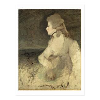 Frau Robinson, c.1784 (Öl auf Leinwand) Postkarte
