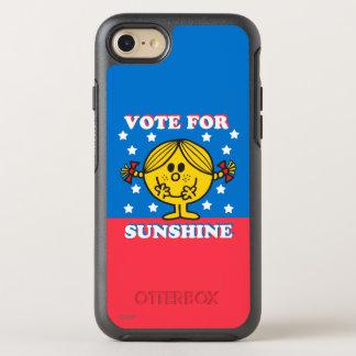 Frau Sunshine Election - Abstimmung für OtterBox Symmetry iPhone 8/7 Hülle