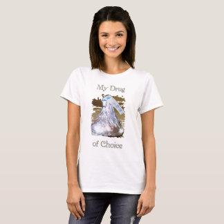 Frauen-Droge des auserlesenen niedlichen T-Shirts