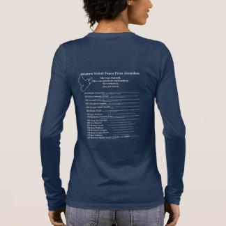 Frauen-Friedensnobelpreis, Nevetheless bestand sie Langarm T-Shirt