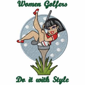 Frauen-Golfspieler