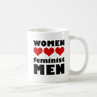 Frauen-Liebe-feministische Mann-Tasse Kaffeetasse