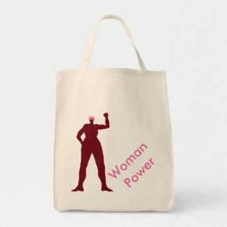 Frauen-Power-Taschen-Tasche Einkaufstasche