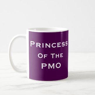 Frauen-Projektleiter-lustiger Name Prinzessin-PMO Kaffeetasse
