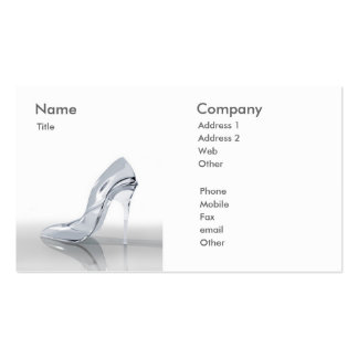Frauen-Schuh - Visitenkarte