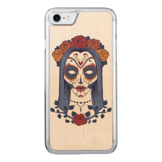 Frauen-Tag der Toten Carved iPhone 8/7 Hülle