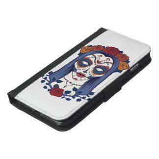 Frauen-Tag der Toten iPhone 6/6s Plus Geldbeutel Hülle