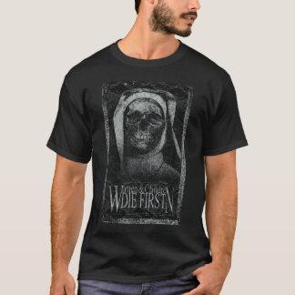 Frauen und Kinder die zuerst: Beraubt T-Shirt