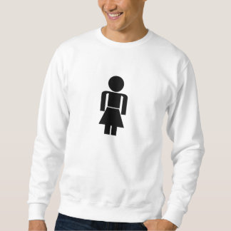 Frauen-Zeichen Sweatshirt