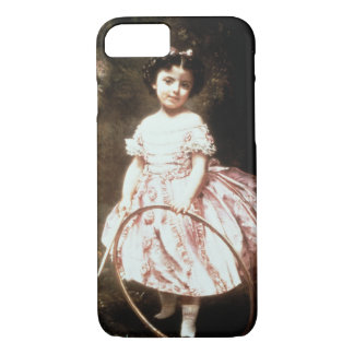 Fräulein Ehrler, 1861 (Öl auf Leinwand) iPhone 8/7 Hülle