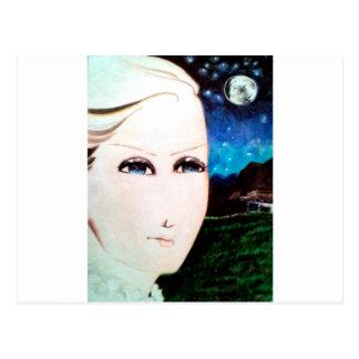 Fraulein-Mädchen Postkarten