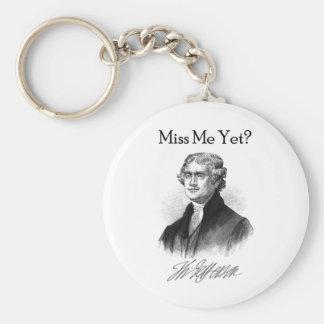 Fräulein Me Yet? (Thomas Jefferson) Schlüsselanhänger