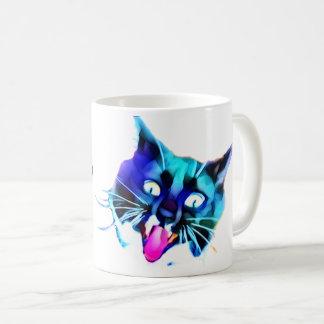 FRAZZ! Verrückte Katzen-Tasse Tasse