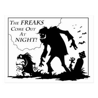 Freaks Postkarte