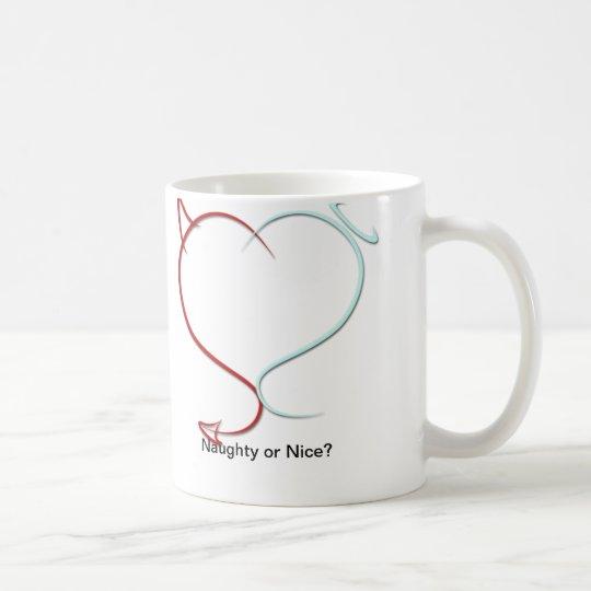 Frech oder Nizza? Kaffeetasse