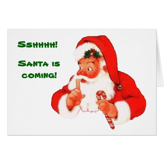 Freche oder Nizza Weihnachtskarte Sankt Karte