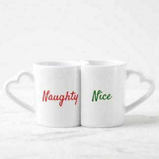 Freche und Nizza Paar-Tassen Liebestassen