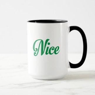 Freche und Nizza WeihnachtsTasse Tasse