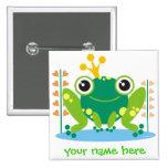 Fred der Froggy Button